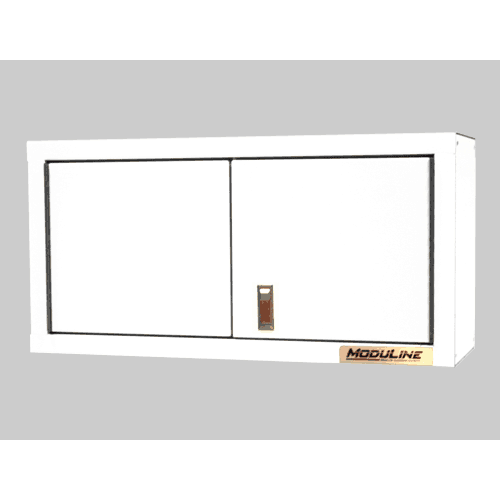 White Aluminum Wall Cabinet Systems