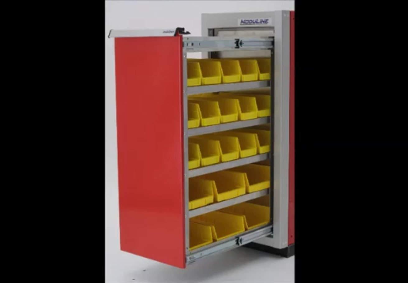 ProII™ Garage Aluminum Parts Bin Specialty Cabinets