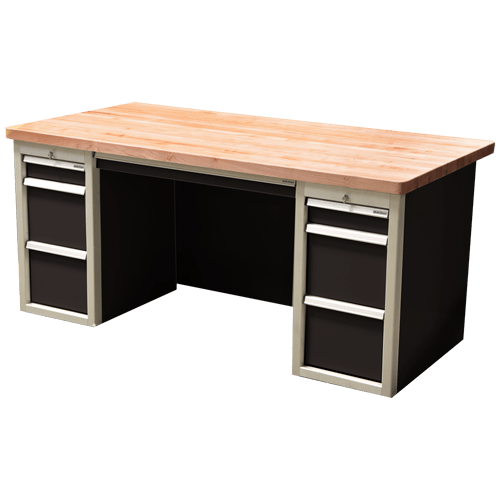 Metal Garage Storage And Desk Cabinets
