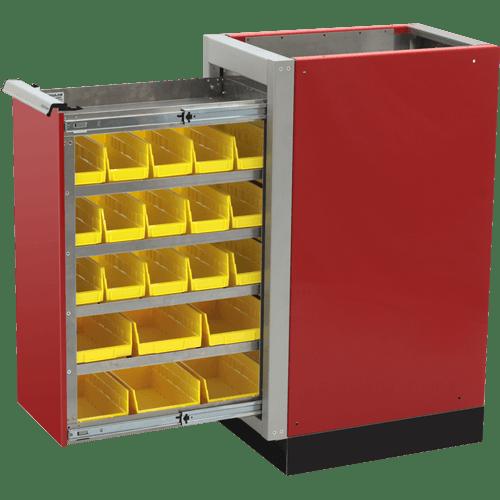 Garage Parts Bin Workshop Cabinet Systems