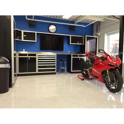 Aluminum Valance For Garage Cabinets Over TV