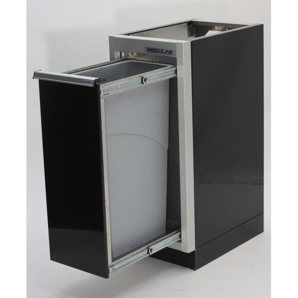 Aluminum Recycle Bin Cabinets For Race Trailers
