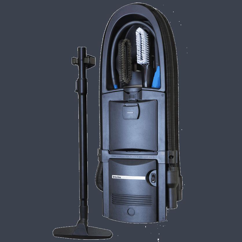 Black Garage Vacuum Flush Mount