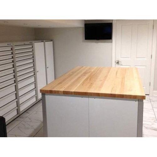 Island Cabinet Butcher Block Top