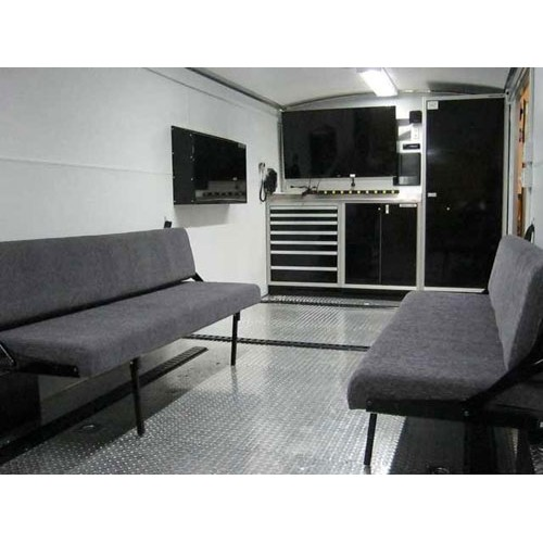 Fold Down Bed And Couch For Trailers