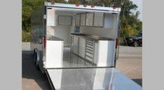 High End Trailer Cabinet Storage