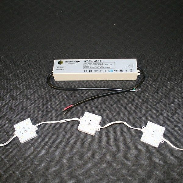 LED Lighting Modules For Wall Cabinets