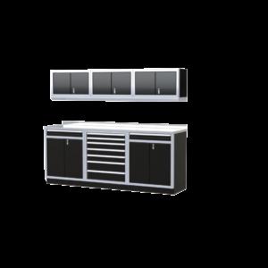ProII™ Garage Cabinet Combination 8 Foot Wide #PGC008-05X