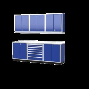 ProII™ Garage Cabinet Combination 9 Foot Wide #PGC009-02X