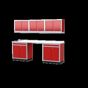 ProII™ Garage Cabinet Combination 9 Foot Wide #PGC009-03X