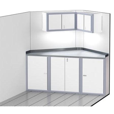 "PROIITM SERIES V-Nose Trailer Cabinet Combination 80"" Wide #C1202"