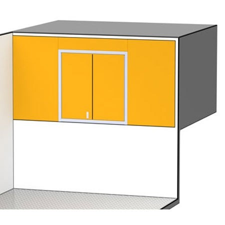 PROIITM SERIES Trailer Cabinet Combination For 5th Wheel Blockoff #C1251