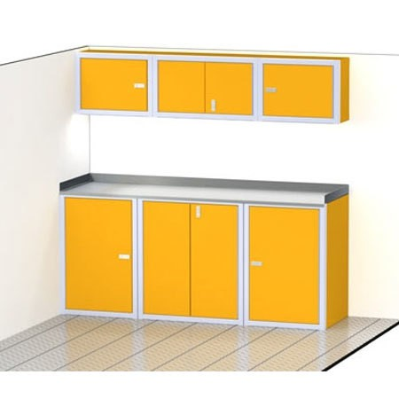 PROIITM SERIES Trailer Cabinet Combination For 80'' Wide #C3202