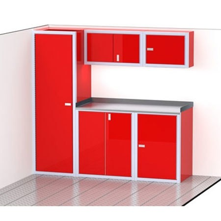 ProII™ SERIES Trailer Cabinet Combination For 80'' Wide #C3206