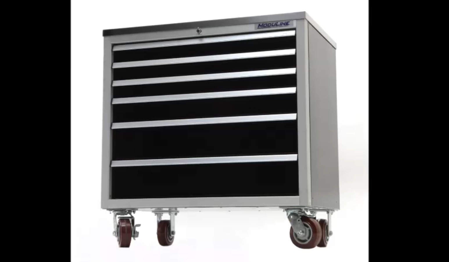 Aluminum Mobile Toolbox Cabinets With Drawer Latch