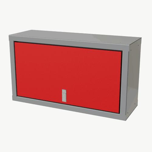 "Red Sportsman II™ 18""H X 11""D X 32""W Overhead Aluminum Cabinet"