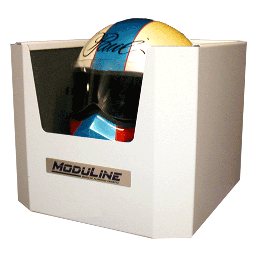 Moduline Helmet Holder Aluminum Cabinet Accessories
