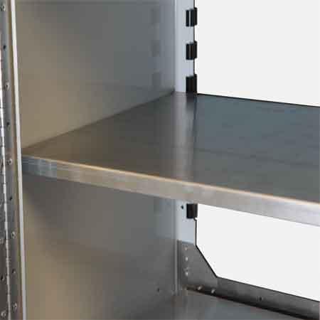 Adjustable Shelves Aluminum Cabinet Accessories