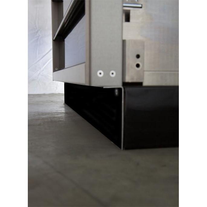 Adjustable Toe Kick Waste Bin Cabinet Accessories