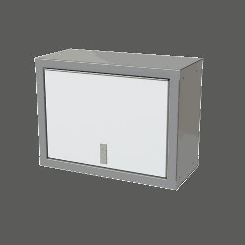 "White Sportsman II™ 18""H X 11""D X 24""W Overhead Aluminum Cabinet"