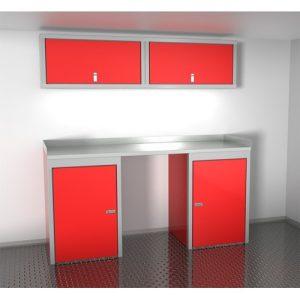 SportsmanII Aluminum Trailer And Vehicle Cabinet Combination 72″ Wide #SPTC006-010