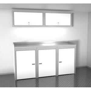 SportsmanII Aluminum Trailer And Vehicle Cabinet Combination 72″ Wide #SPTC006-020
