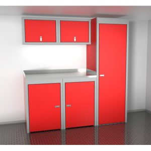 SportsmanII Aluminum Trailer And Vehicle Cabinet Combination 72″ Wide #SPTC006-030