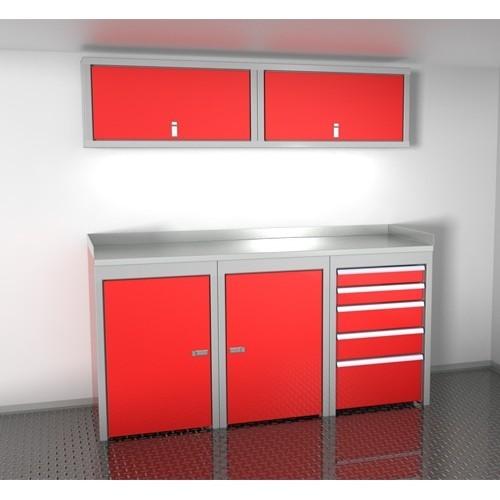Sportsman II™ Aluminum Trailer And Vehicle Cabinet Combination #SPTC006-040