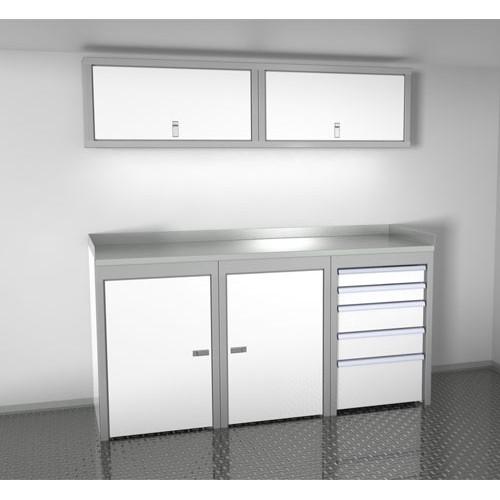 "Sportsman II™ Aluminum Trailer And Vehicle Cabinet Combination 72"" Wide #SPTC006-040"