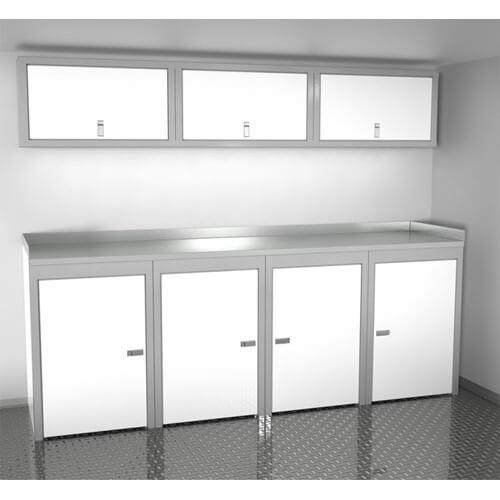 Sportsman II™ Aluminum Trailer And Vehicle Cabinet Combination #SPTC008-010