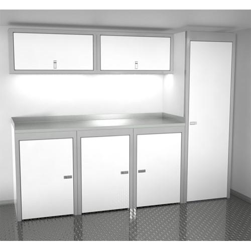 Sportsman II™ Aluminum Trailer And Vehicle Cabinet Combination #SPTC008-030