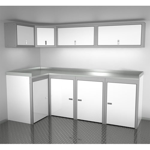 Sportsman II™ Aluminum Trailer And Vehicle Cabinet Combination #SPTC008-050