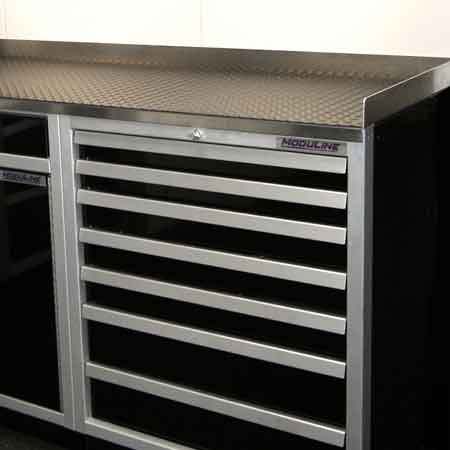 Bench Mat Countertop for Moduline Cabinets