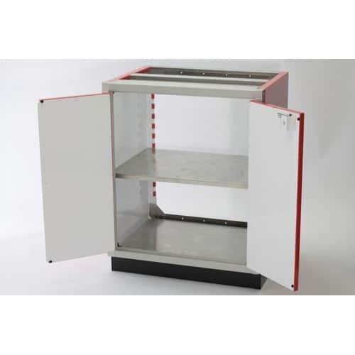 Adjustable 30x32 Aluminum PROII™ Storage Shelf In Cabinet