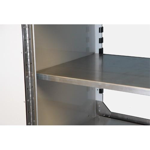 "PROIITM Aluminum Adjustable Shelf 24""D X 16""W"