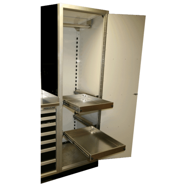 ProII™ Aluminum Adjustable Pull-Out Shelf For Cabinets