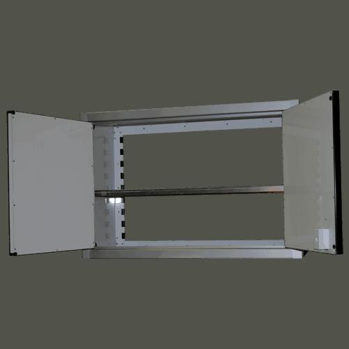 Aluminum Open Door PROII™ Storage Cabinets