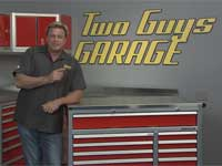 Moduline Aluminum Cabinets on Two Guys Garage