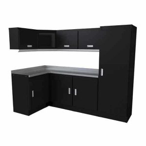 Select™ SERIES Garage Corner Cabinet Combination 4′ X 8′ Wide #SEGC010-010C