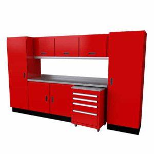 Select™ SERIES Garage Cabinet Combination 10′-4″ Wide #SEGC010-040