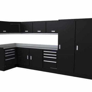 Select™ SERIES Garage Cabinet Combination 4′ X 12′ Wide #SEGC014-020C