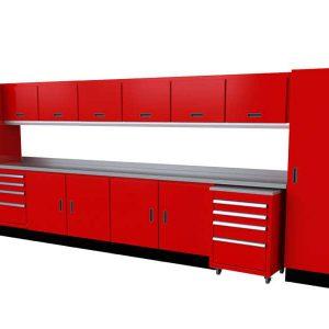 Select™ SERIES Garage Cabinet Combination 16′-4″ Wide #SEGC016-030