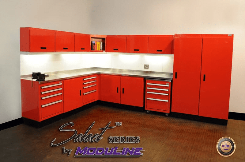 high quality garage and shop cabinet systems