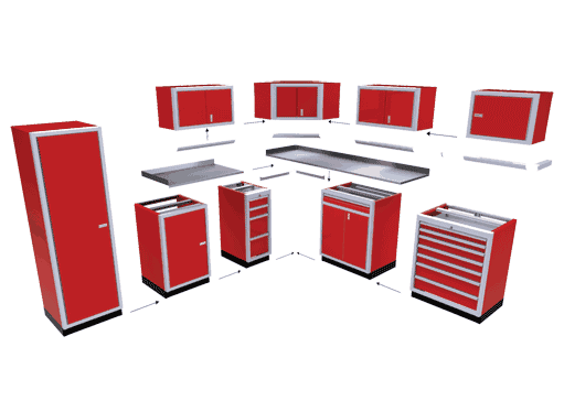 Modular Cabinets Features