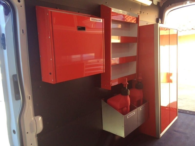 Customized Lightweight Trailer and Vehicle Cabinets