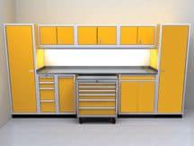 Garage Cabinet Combination