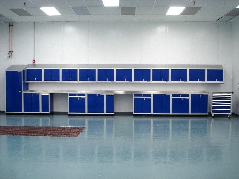 Laboratory Premium Garage Aluminum Cabinets