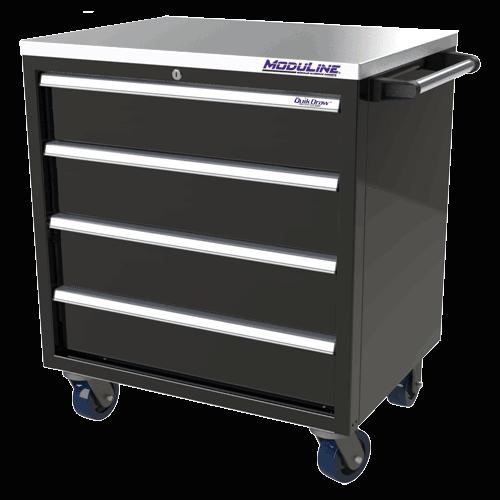 Black QuikDraw® Aluminum Tool Box