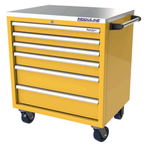 QuikDraw® 32″ Aluminum Tool Box With 6 Drawers