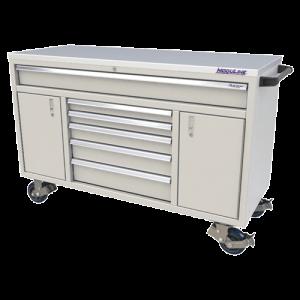 QuikDraw® 60″ Aluminum Tool Box With 6 Drawers, 2 Doors